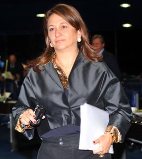 Brasilianische Senatorin Kátia Abreu