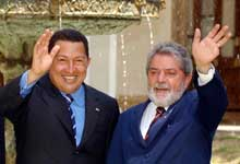 Chávez und Lula