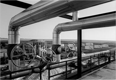 Ethanol- und Zuckerfabrik in Brasilien