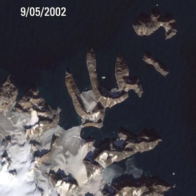Grönland Erwärmung Stand 2002