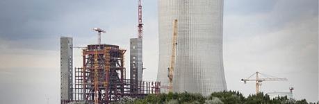 Kohlekraftwerk Datteln in Bau