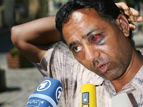 Singh, eines der Opfer der ausländerfeindlichen Ausschreitungen in Mügeln
