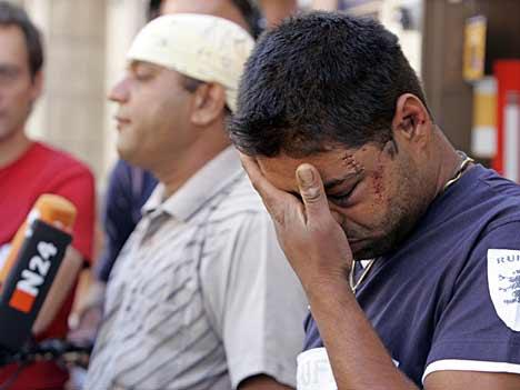 Opfer der ausserländerfeindlichen Ausschreitungen in Mügeln
