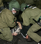 Polizeieinsatz gegen friedliche Demonstranten