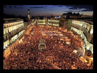 Spanish Revolution Praca da Catalunha Barcelona