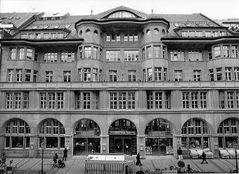 Süddeutsche - historisches Foto des Redaktionsgebäudes in der Münchener Sendlinger Strasse