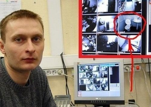 Video-Überwachung auch auf dem Klo