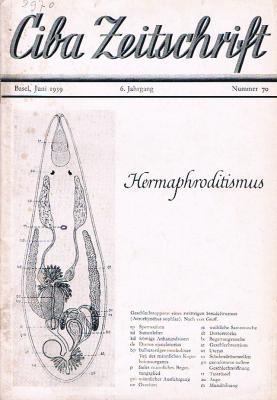 Ciba-Zeitschrift-Hermaphriditismus