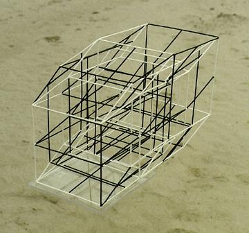 fünfdimensionaler LTI-cubus, Plastik, Frank Richter