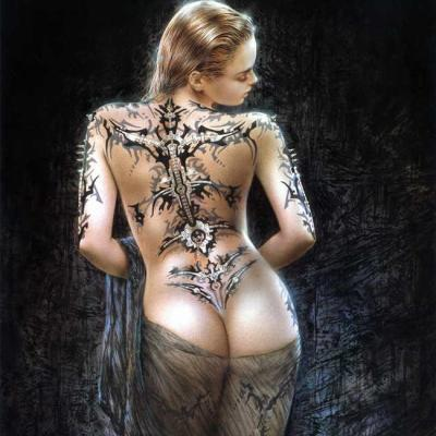 Buy Luis Royo Subversive Beauty Tattoo Piercing Portfolio
