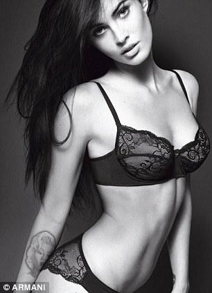 Megan Fox Armani 1