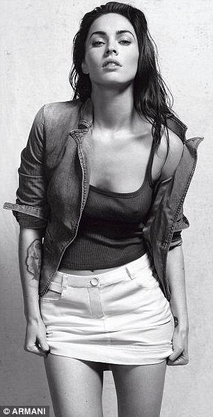 Megan Fox Armani 4