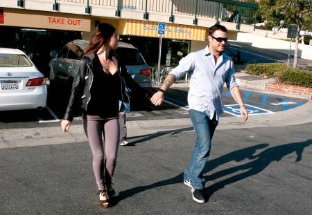 Megan Fox BA Green Hand 1