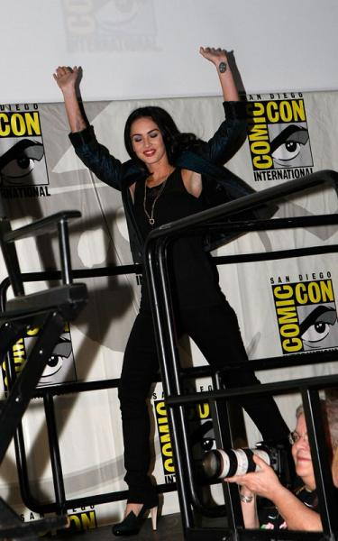 Megan Fox Comic Con Jonah 2