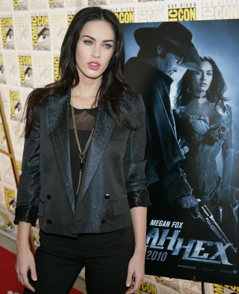 Megan Fox Comic Con Jonah