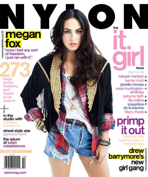 Megan Fox Nylon
