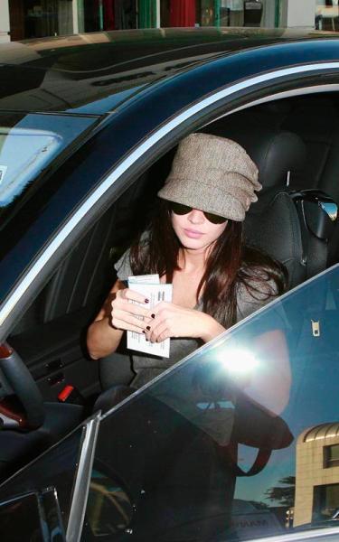 Megan Fox Parking Ticket 1