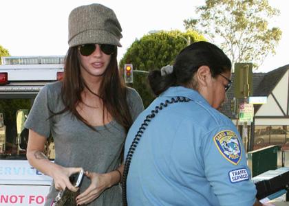 Megan Fox Parking Ticket 2