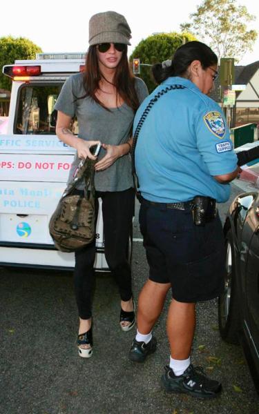 Megan Fox Parking Ticket 3