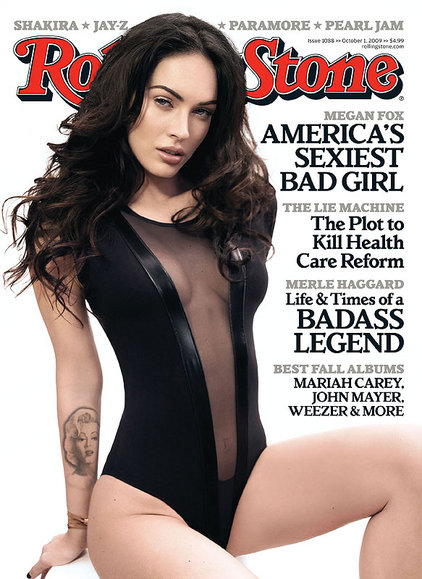Megan Fox Rolling Stone 1