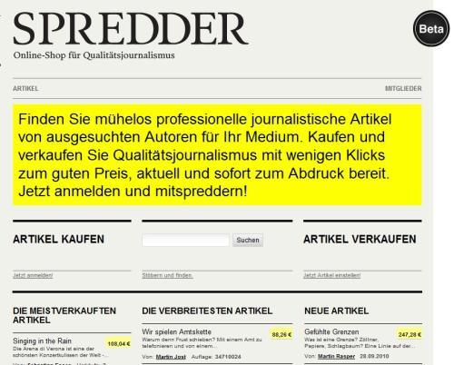 Spredder-de