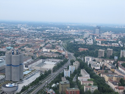Blick vom Olympiaturm