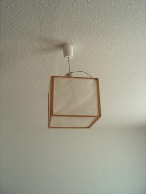 Reparierte Lampe