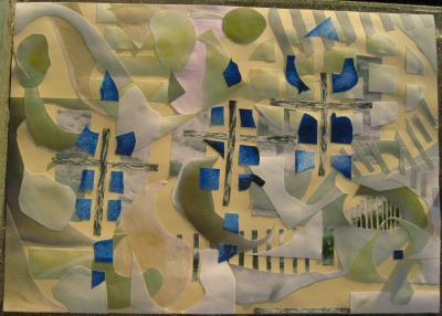 collage-frei-nach-rembrandt-s-die-drei-kreuze