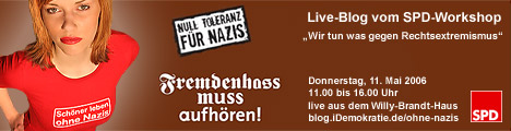 """Live-Blog vom SPD-Workshop """"Wir tun was gegen Rechtsextremismus"""""""