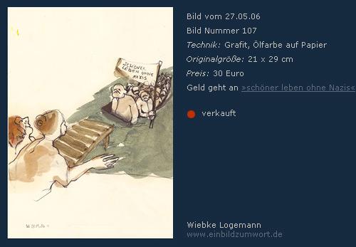 Zeichnung von Wiebke Logemann www.einbildzumwort.de