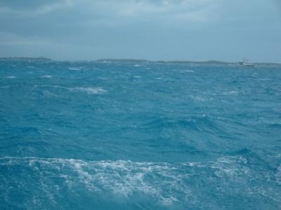 Windgebürstetes Wasser...