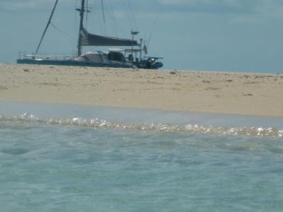 Untergegangen sind wir noch nicht,<br /> nur ab und zu hinter einer Sandbank verschwunden...