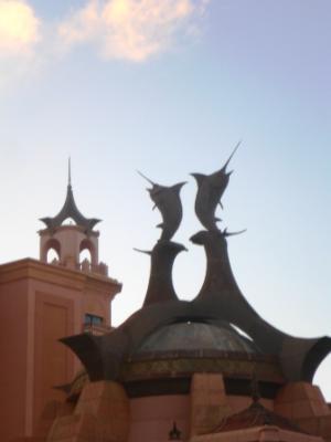 Die Kuppel des Casinos...