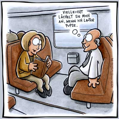 NICHTLUSTIG Cartoon LICHT by