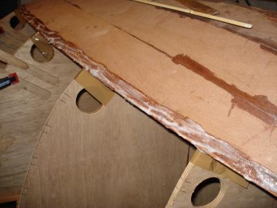 Planke-einstreichen