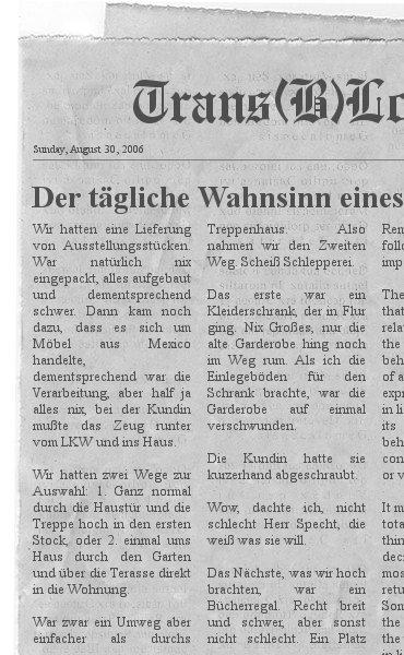 Zeitungsblog