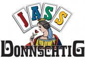 Donnschtigjass-Logo