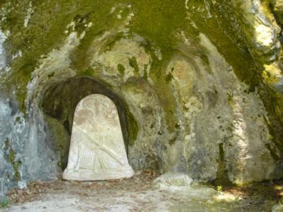 Gedenkstein-Salomon-Gessner-Gessnergrotte-Ermitage-Arlesheim