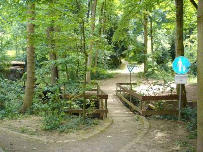 Hugstetter-Schlosspark-Eingang