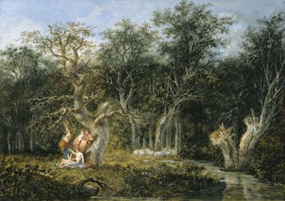 Salomon-Gessner-Apfellese-Gouache-1788