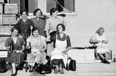 Schappe-Arlesheim-ca-1940-Copyright-Foto-Albert-Urech