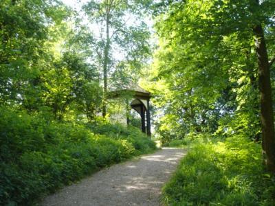 Schlosspark-Hugstetten-Teehaus