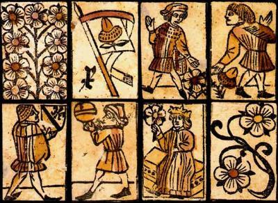 Spielkarten-aus-dem-spaeten-15-Jahrhundert