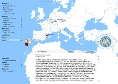 Pastperfect-Landkarte