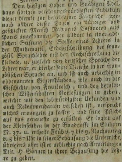 Kundschaftsblatt-Prag_17870331_Casanova