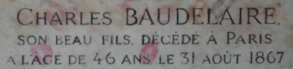 MontparnasseFriedhof_Baudelaire_Grab_1