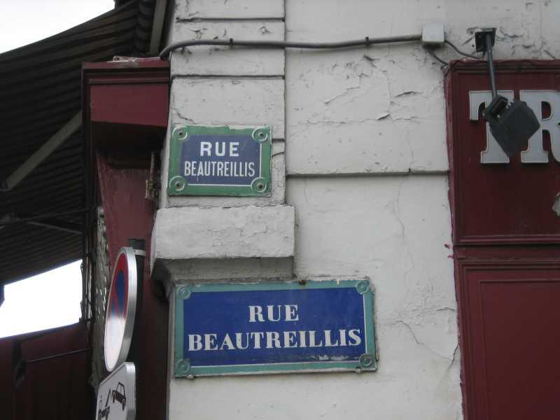 Morrison_RueBeautreillis_Strassenschild