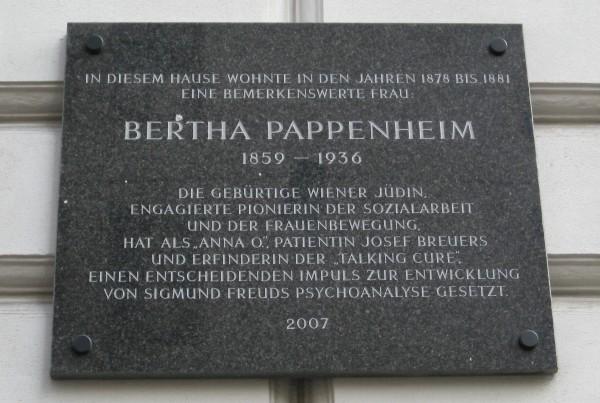 PappenheimBertha-AnnaO_Wien_Liechtensteinstr2_2