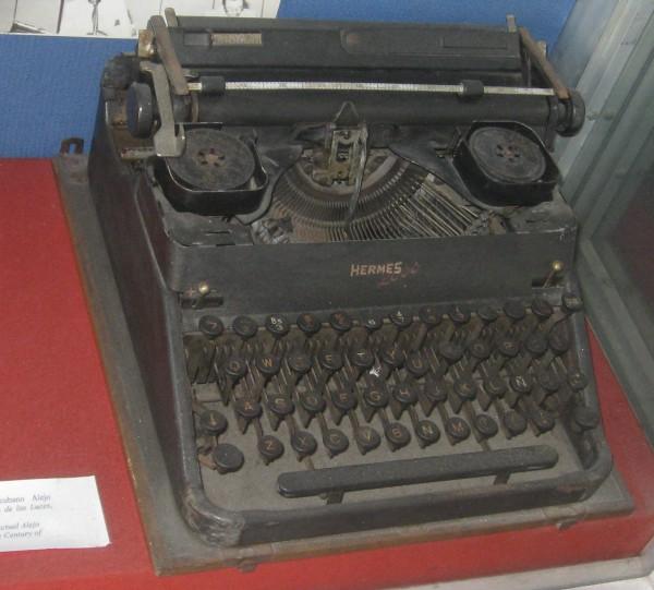 Schreibmaschine_Carpentier_Havanna-Revolutionsmuseum