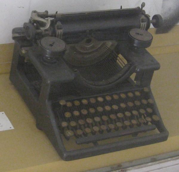 Schreibmaschine_Castro-HIFreisprechen_Havanna-Revolutionsmuseum